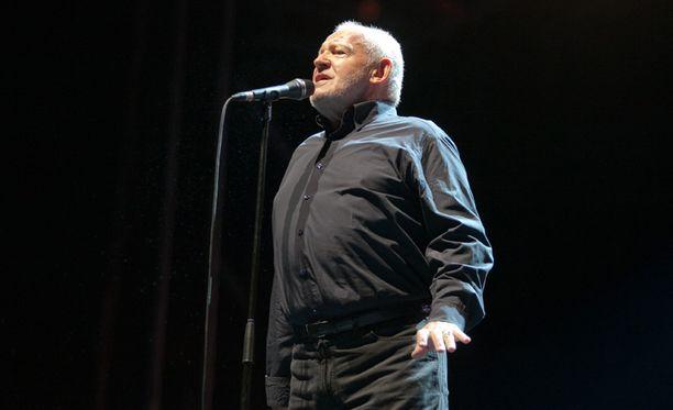 Joe Cocker kuoli 70-vuotiaana. Kuva Prahan-konsertista vuodelta 2013.