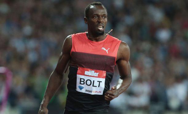 Usain Bolt on voittanut 100 ja 200 metrin matkat sekä Pekingissä että Lontoossa.