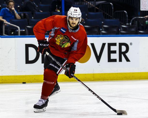 Daniel Carcillo voitti pelaajaurallaan Chicago Blackhawksin paidassa Stanley Cupin.