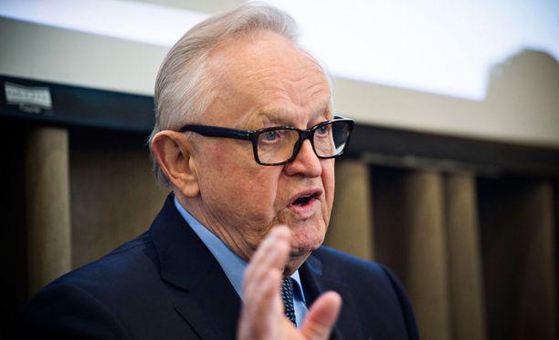 Martti Ahtisaaren Nobel-palkinto sataa Nobel-säätiön sivuilla Venäjän laariin.
