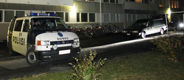 Puukotus tapahtui Oulun Nummikadulla.