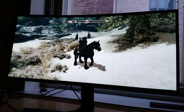 Elder Scrolls V: Skyrim ei tue resoluutiota natiivina, vaan venyttää grafiikkaa. Tähänkin löytyy apua modeista.