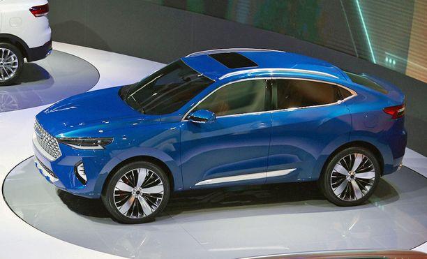 Kiinalainen Great Wall Motors esitteli uuden Wey-automerkin viime vuoden lopulla Kiinassa. Syyskuussa tämä merkki nähdään Frankfurtin autonäyttelyssä.
