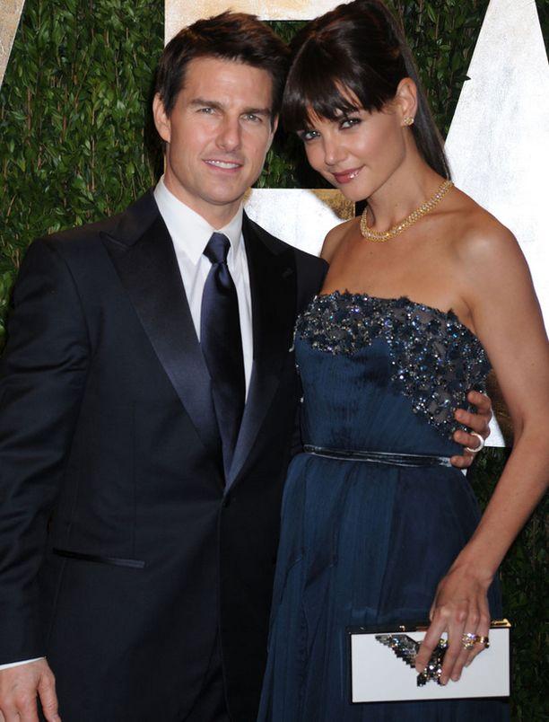 Tom Cruise ja Katie Holmes.