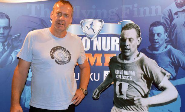 Uwe Hohn on Turussa seuraamassa Paavo Nurmi Gameseja.