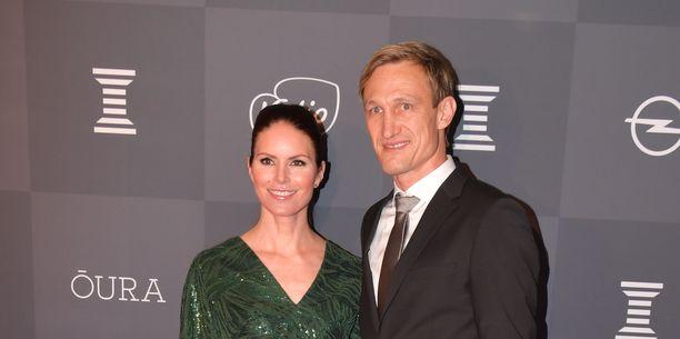 Sami ja Susanna Hyypiä ovat pitäneet yhtä pitkään.