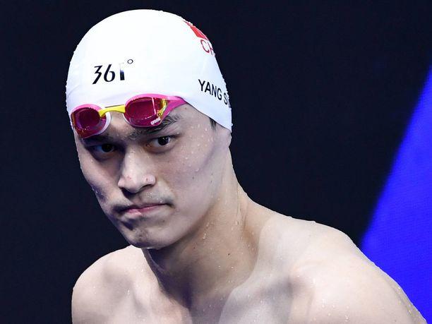 Sun Yang haaveilee vielä Tokion olympialaisista.