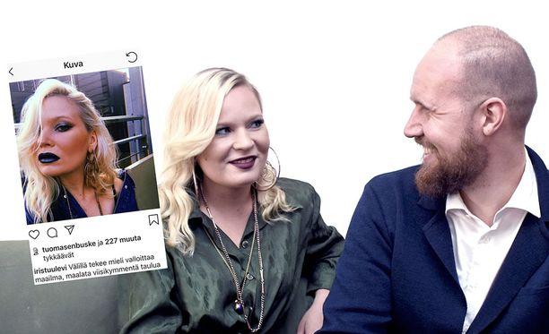 Touko Aalto ja Iris Flinkkilä muuttivat toukokuussa yhteen. He antoivat Iltalehdelle harvinaisen parisuhdehaastattelun.