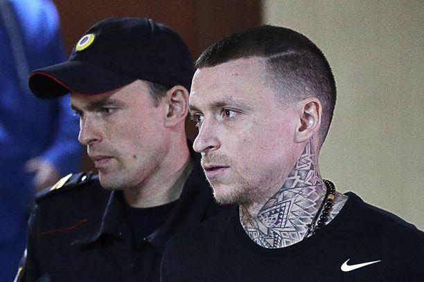 Pavel Mamajev tuomittiin vuoden ja viiden kuukauden ehdottomaan vankeusrangaistukseen.