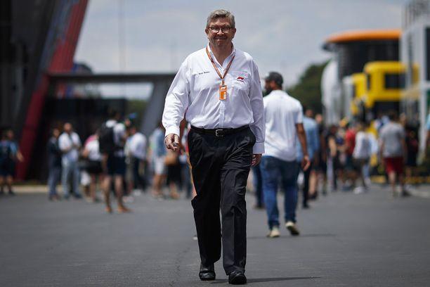 Ross Brawn vastaa nykyisessä pestissään F1:n urheilupuolesta ja sen kehittämisesä.