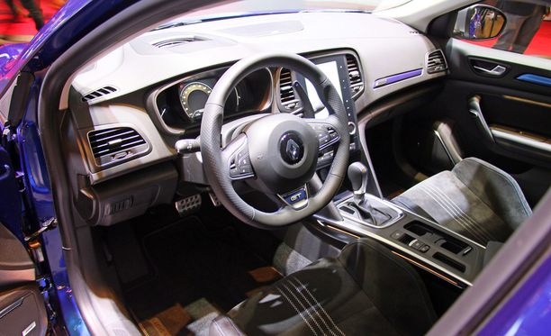 Renaultin ohjaamo.