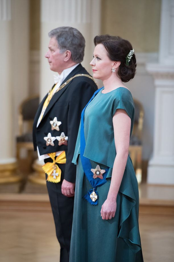 Sauli Niinistö ja Jenni Haukio odottavat lasta.