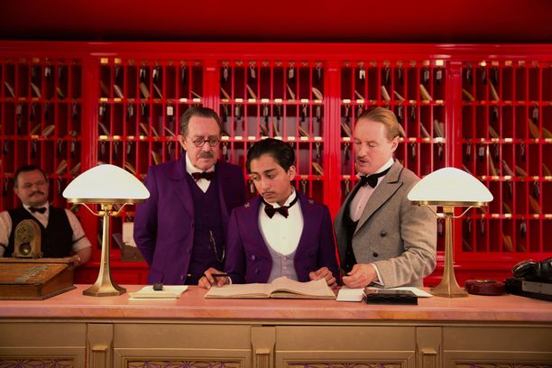 The Grand Budapest Hotel on Andersonin viimeisin elokuva.