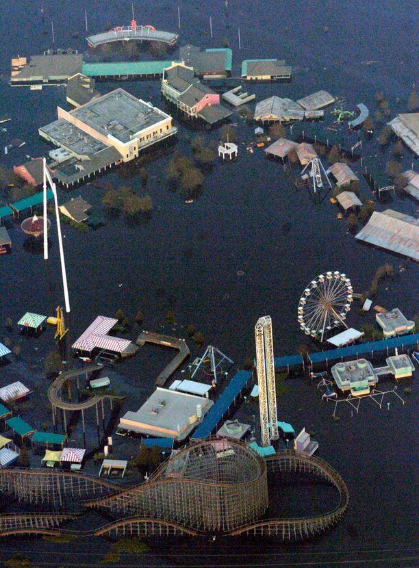 Hurrikaani Katrina hukutti Jazzlandin.