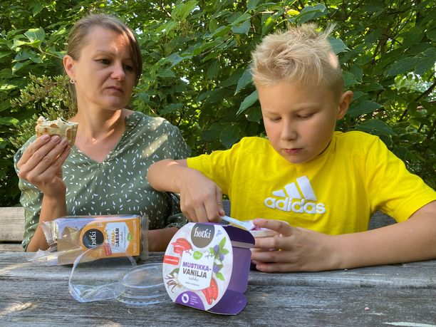 Vilma ja Vilhelm löysivät testijakson aikana monia uusia Hetki-tuotteita, joita he aikovat käyttää arjen helpottajina myös jatkossa.