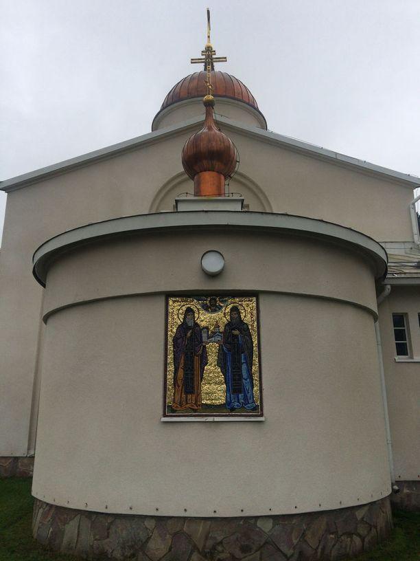 Luostarin perustajaisät, Sergei ja Herman Valamolainen.