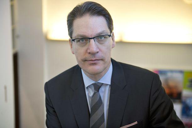 Eläkeyhtiö Varman toimitusjohtaja Murton mukaan Kreikka on velkavankeudessa.