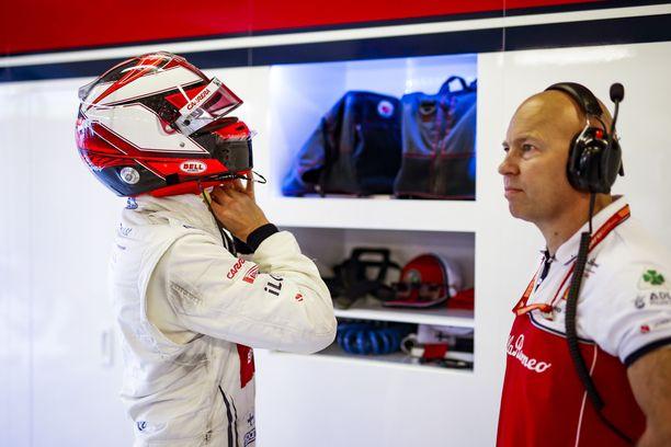 Kimi Räikkönen on pitänyt huolen fysiikastaan.