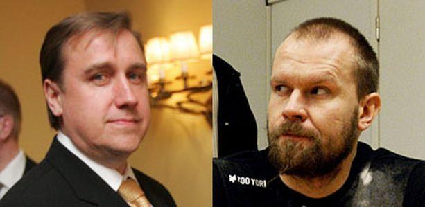 Juha Junnolla on vielä keskusteltavaa Jere Karalahden kanssa.