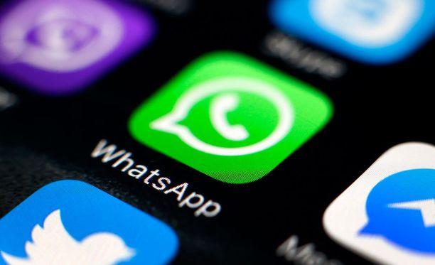 Whatsapp-sovellus päivittyi vastikään.