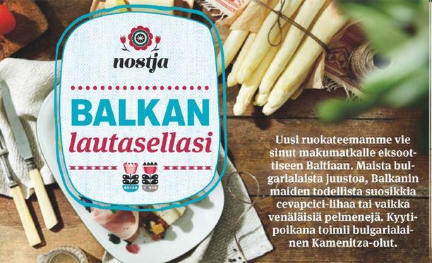 Balkan lautasellasi - tervetuloa eksoottiseen Baltiaan!