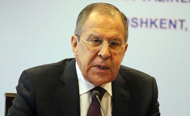 Ulkoministeri Sergei Lavrov tapaa amerikkalaiskollegaansa Moskovassa.