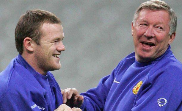 Näillä näkymin Wayne Rooney pelaa Newcastle-ottelussa.