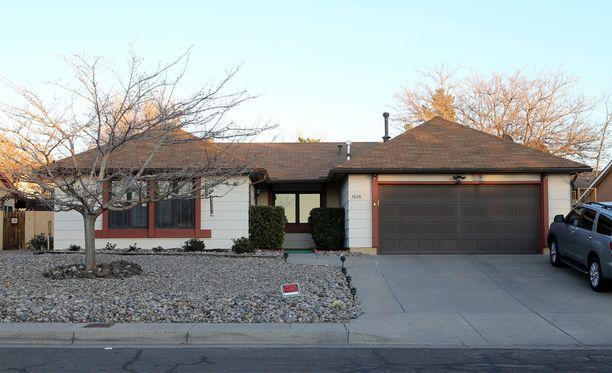 Talo sijaitsee New Mexicossa Yhdysvalloissa.