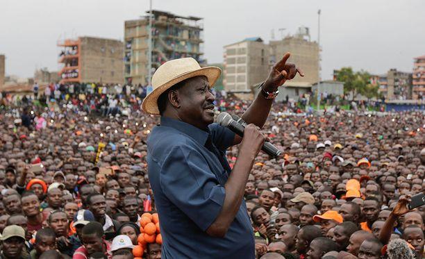 Raila Odingan johtaman opposition mukaan vaaleissa syyllistyttiin vilppiin, ja kiista vietiin korkeimman oikeuden ratkaistavaksi.