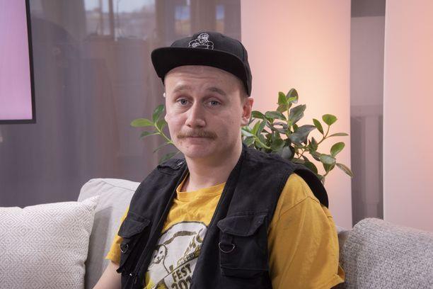 Iltalehden studiossa vieraillut Kristian ehti voittonsa jälkeen nukkua 45 minuutin yöunet.