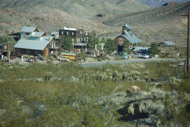 Nelsonin aavekaupunki Nevadassa on suosittu nähtävyys.