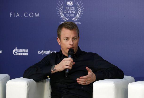 Kimi Räikkönen tuli Pietariin hakemaan kunniakirjan MM-sarjan pronssisijastaan.