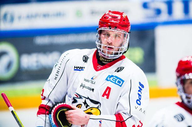 Jonne Virtanen muistuttaa, että Kärpille olisi katastrofaalista pudota Sportille.