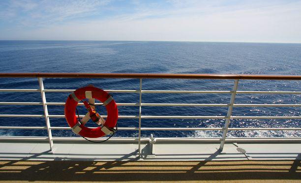 Risteillessä voi nähdä muutakin kuin kauniita merimaisemia. Kuvituskuvia.