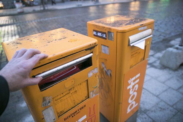 Postin palvelut ovat sunnuntaina joutuneet merkittäviin ongelmiin.