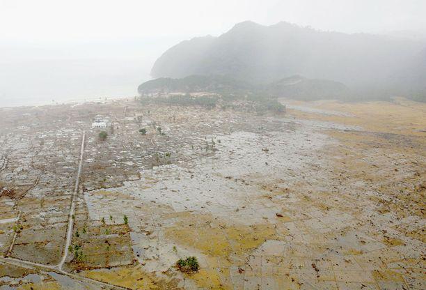 Thaimaan Tsunami Paavo