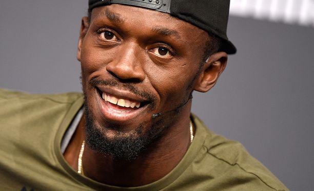 Usain Bolt uskoo itseensä Lontoon MM-kisoissa.