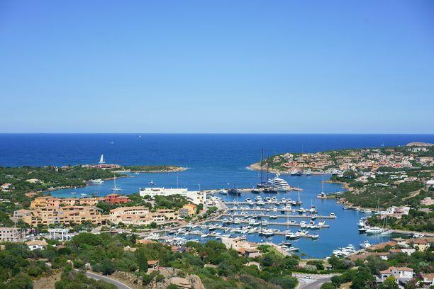 Costa Smeralda on luksuslomakohde Sardinian saarella.