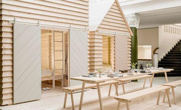 Koti Sleepover -nimiset aitat tekivät suomalaisesta mökkeilystä kansainvälisen trendin.