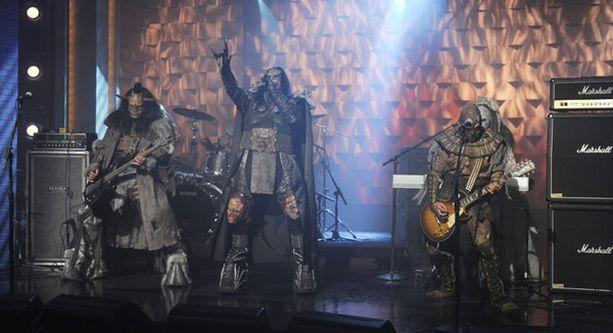 Lordin esiintyminen Late Night with Conan O'Brienissa nähdään Subilla 11. marraskuuta puolenyön aikaan sekä uusintana 15. marraskuuta kello 15.40.