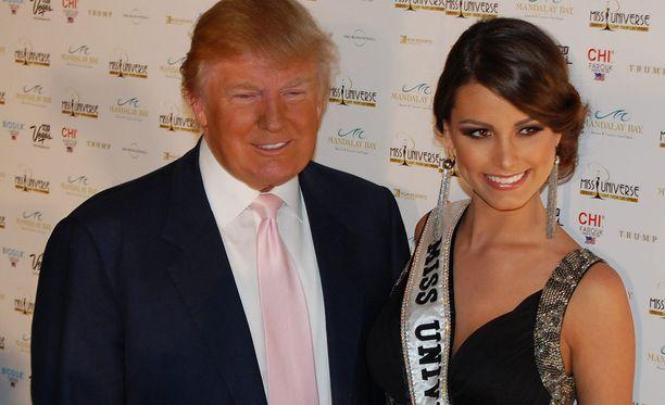 Trumpilla on silmää naiskauneudelle - ja myös asiattomia kommentteja