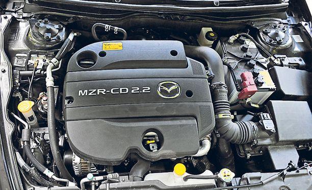 HILJAINEN Uusi 2,2-litrainen turbodiesel on sivistynyt voimanlähde.