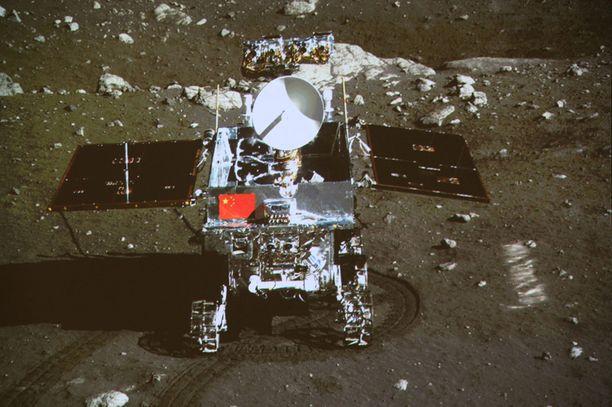Jadepupun työn Kuun pinnalla on tarkoitus kestää kolme kuukautta.