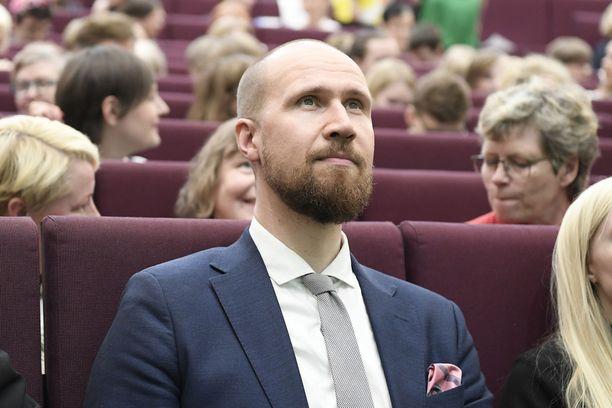 Kansanedustaja Touko Aalto on vihreiden uusi puheenjohtaja.