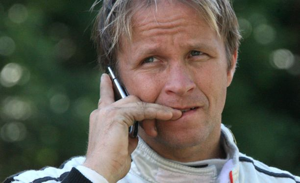 Petter Solberg säikähti ammuskelua.