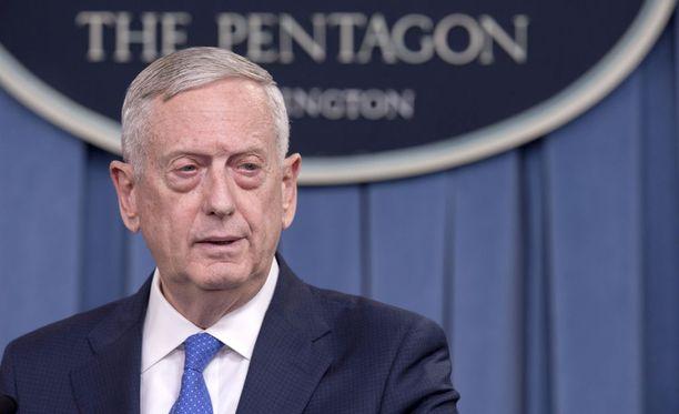 Puolustusministeri James Mattis on huolestunut Pohjois-Korean ja Yhdysvaltojen kiristyneistä väleistä.