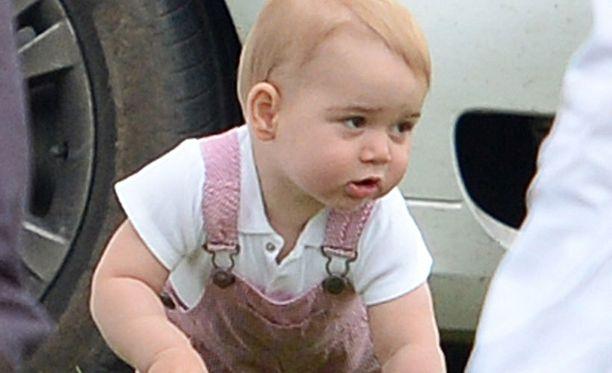Prinssi George täyttää ensi kuussa yhden vuoden.