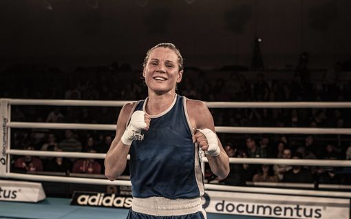 Mira Potkonen nyrkkeili EM-mitalille!