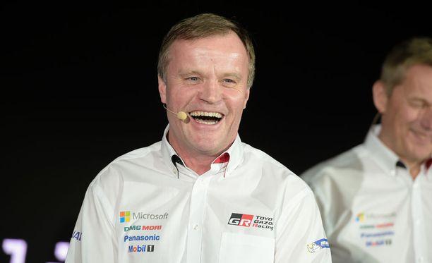 Tommi Mäkisen johtama talli on taikonut Toyotasta voittaja-auton hämmästyttävän nopeasti.
