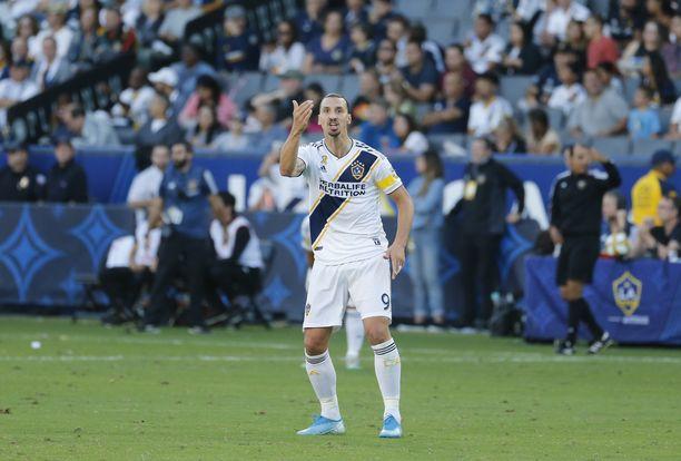 Zlatan Ibrahimovicin edustaman LA Galaxyn matka jatkuu MLS:n konferenssivälierään.